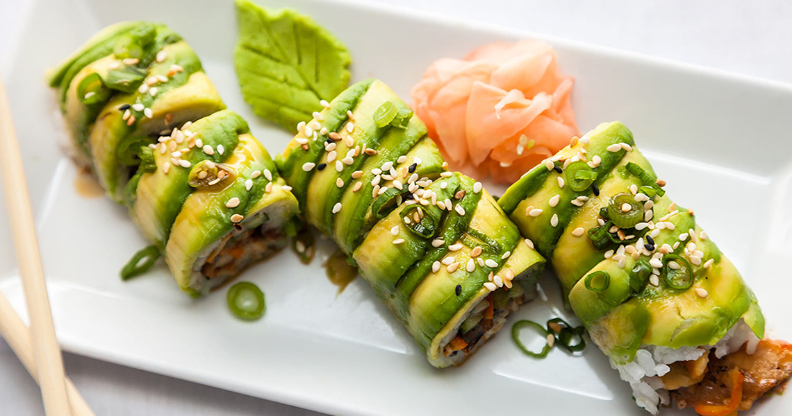 Eat fresh, delicious sushi of the freshest quality